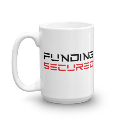 funding secured mug: 15 oz