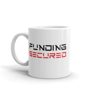 funding secured mug: 11 oz