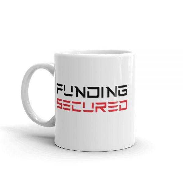 funding secured mug: 11 oz