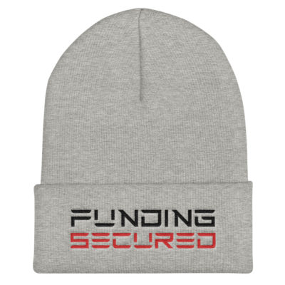 Funding Secured Beanie