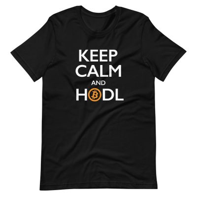 Keep Calm and HODL shirt