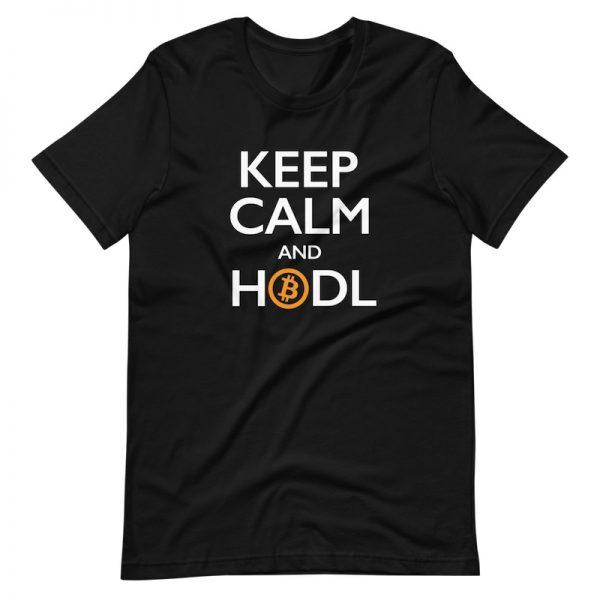 Keep Calm and HODL shirt