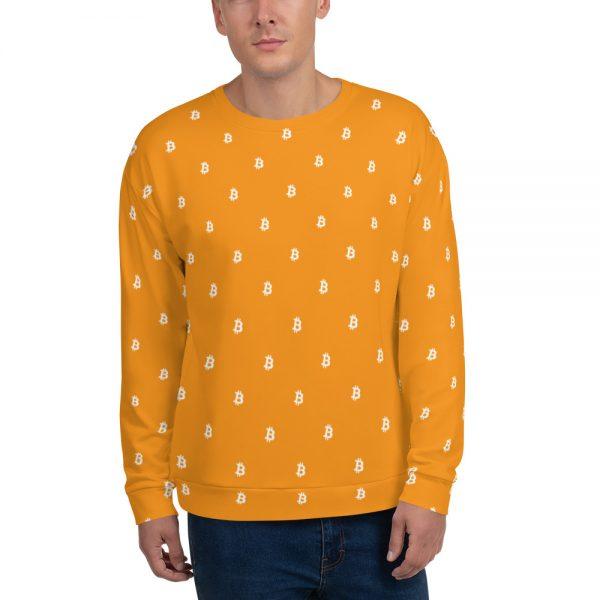 Bitcoin Sweatshirt - men's front
