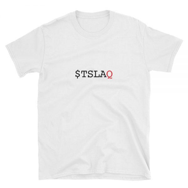 $TSLAQ T-Shirt - White