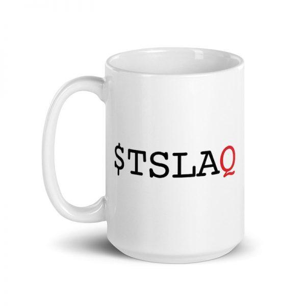 $TSLAQ mug 15 oz