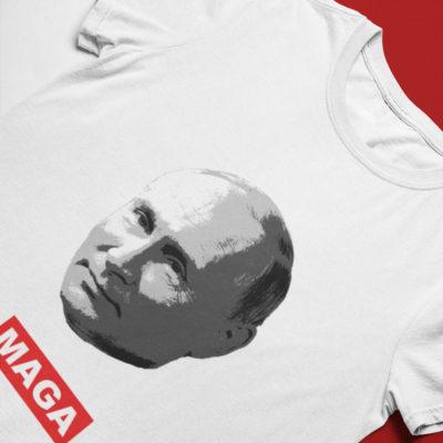 Vladimir Putin MAGA T-Shirt - Flatlay