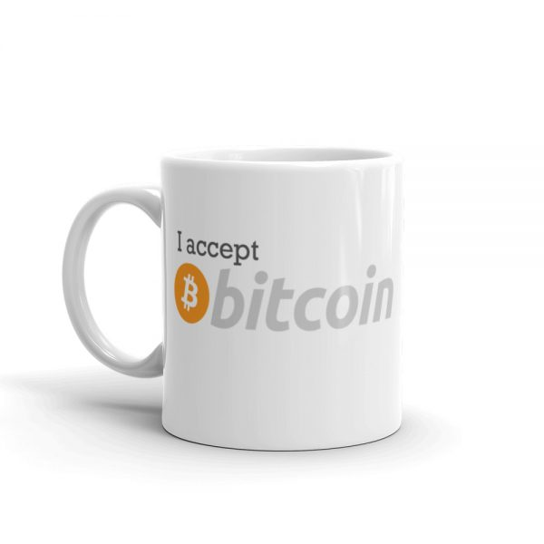 I Accept Bitcoin Mug