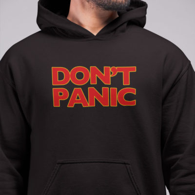 Hitchhiker's Guide DON'T PANIC Hoodie