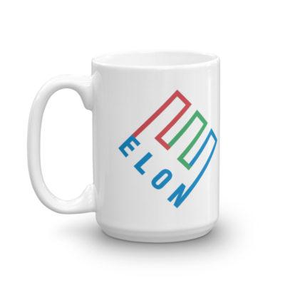 enron logo elon mug - 15 oz