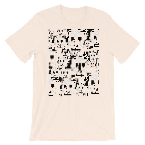 anti-surveillance shirt - soft cream