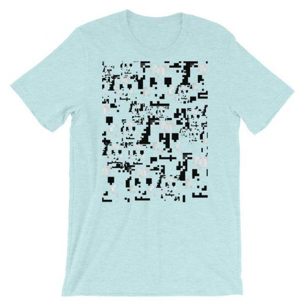 anti-surveillance shirt - heather prism ice blue