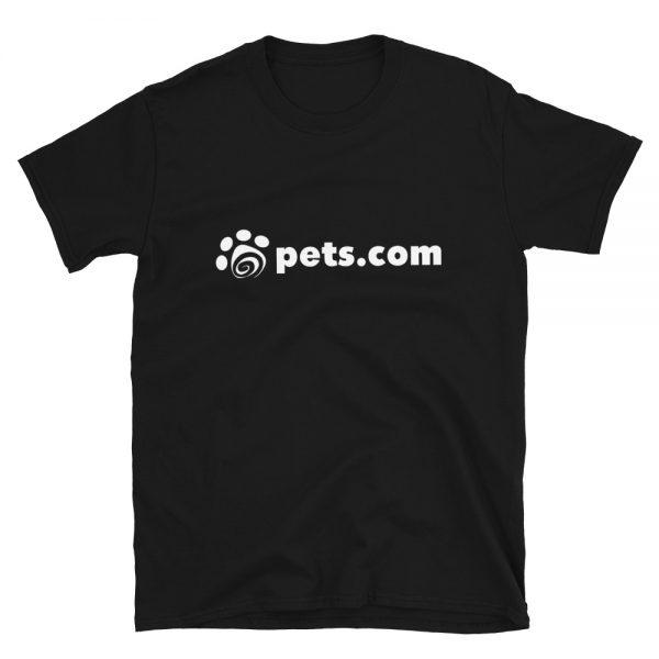 pets.com shirt - black