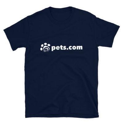 pets.com shirt - navy