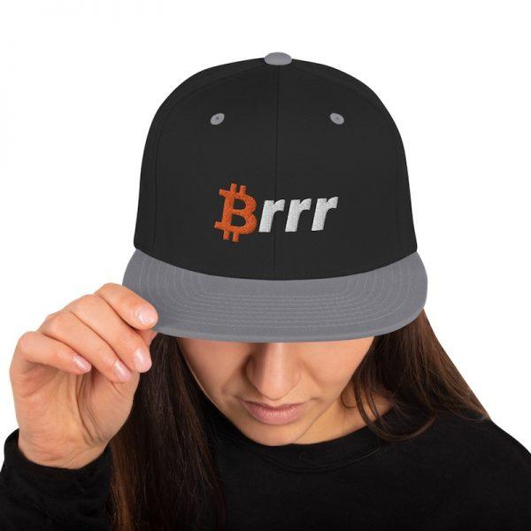 Money Printer Go Brrr Hat - model