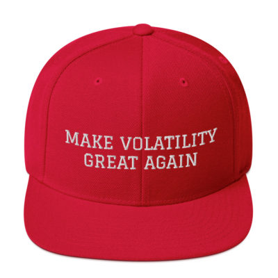 Make Volatility Great Again Hat