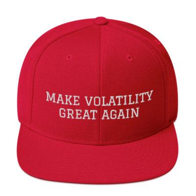 Make Volatility Great Again Hat