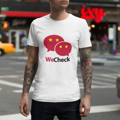 WeChat We Check shirt