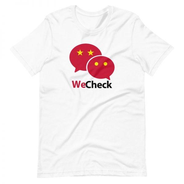 WeChat We Check shirt