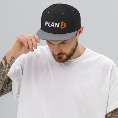 Plan B Bitcoin Hat - Model