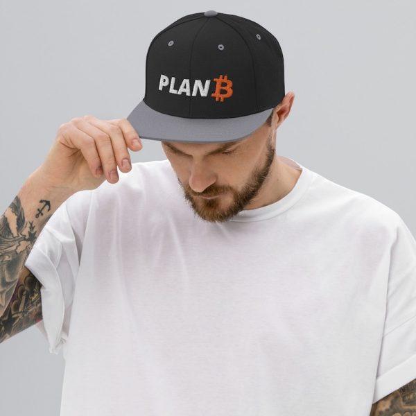 Plan B Bitcoin Hat - Model