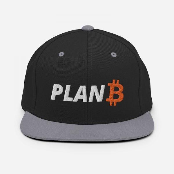 Plan B Bitcoin Hat - Silver