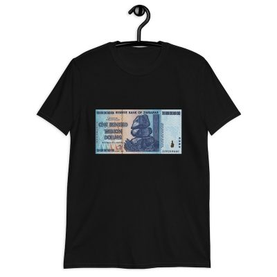 100-Trillion Dollar Bill Shirt - black